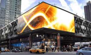 Реклама на светодиодных экранах