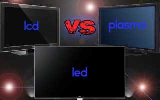 Плазменный телевизор, LED, LCD: характеристики и сравнение
