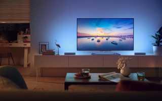 Подсветка телевизора светодиодной лентой