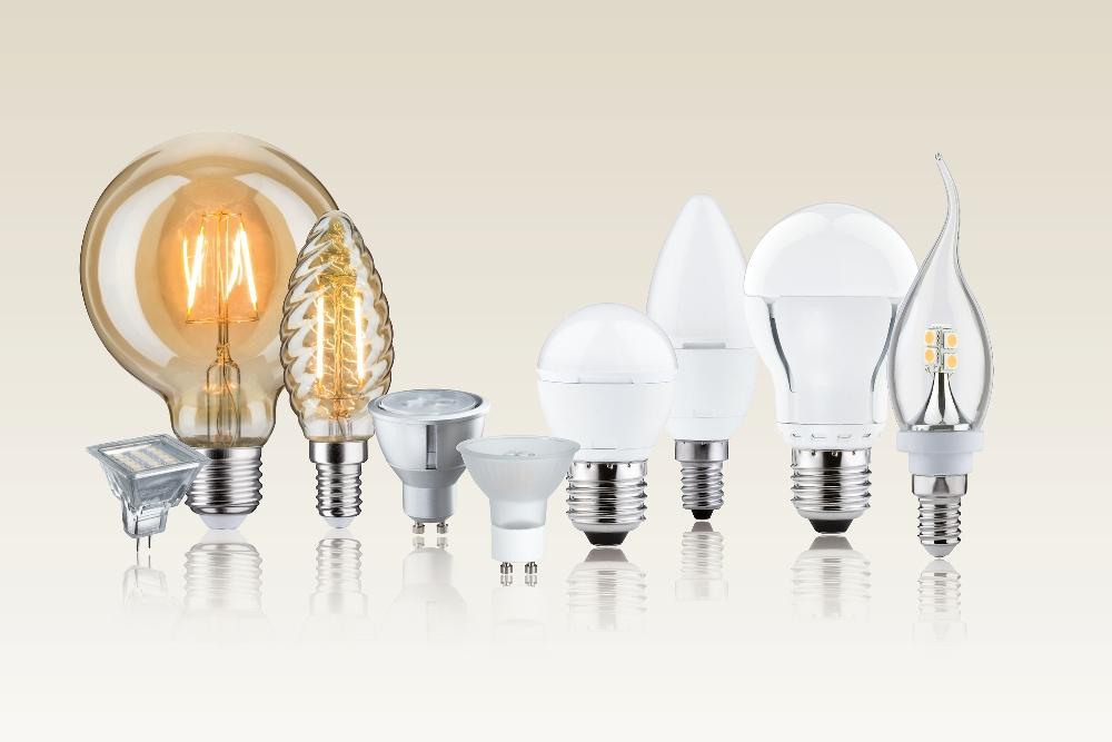 Виды колб LED-лампочек