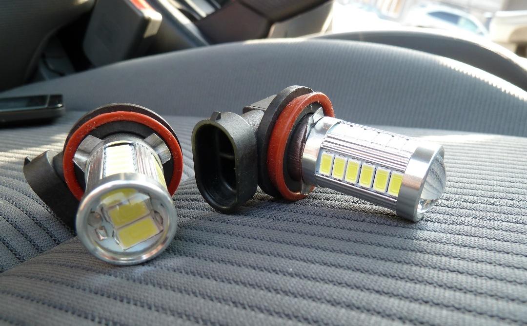 светодиодные лампы в габариты
