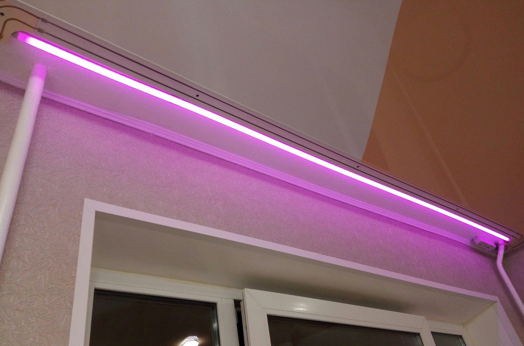 Светодиодные ленты для подсветки штор и гардин